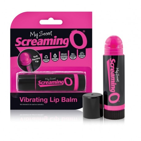 Mini wibrator - The Screaming O Vibrating Lip Balm