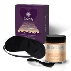 Krem jadalny do ciała - Dona Body Topping Honeysuckle 60 ml  Nektar