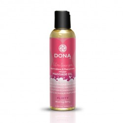 Olejek do masażu - Dona Scented Massage Oil Blushing Berry 125 ml