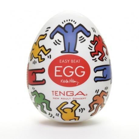 Japoński masturbator - Tenga Keith Haring Egg Dance 1szt