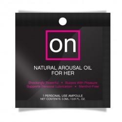 Olejek stymulujący dla kobiet - Sensuva ON Arousel Oil for Her Original Ampułka