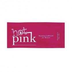 Lubrykant rozgrzewający - Pink Hot Pink Warming Lubricant 5 ml