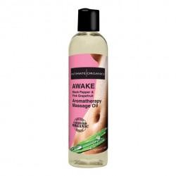 Rozbudzający olejek do masażu - Intimate Organics Awake Massage Oil 120 ml