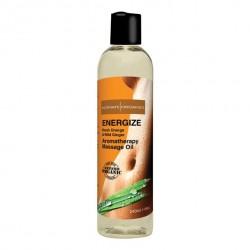 Energetyzujący olejek do masażu - Intimate Organics Energize Massage Oil 240 ml