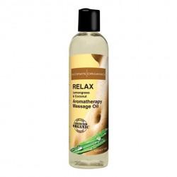 Relaksujący olejek do masażu - Intimate Organics Relax Massage Oil 120 ml