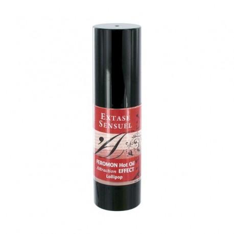 Olejek z feromonami - Extase Sensuel Hot Oil Lollipop