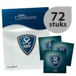 Prezerwatywy XL - Safe XL Condoms 72 szt