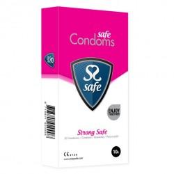 Prezerwatywy wzmocnione - Safe Strong Condoms 10 szt