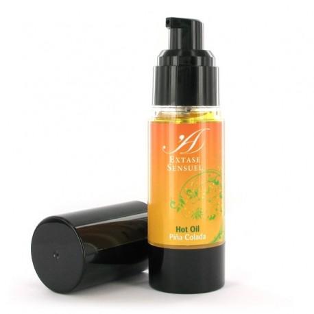 Olejek stymulujący rozgrzewający - Extase Sensuel Hot Oil Pina Colada