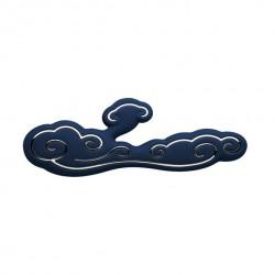 Wibrator z króliczkiem - Sky by Ave Alto Rabbit Vibrator Blue Niebieski