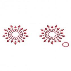 Biżuteria na piersi - Petits Joujoux Gloria Red Czerwona