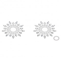 Biżuteria na piersi - Petits Joujoux Gloria Silver Srebrna