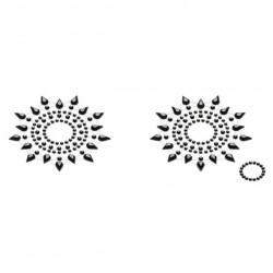 Biżuteria na piersi - Petits Joujoux Gloria Black Czarna