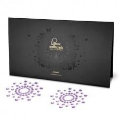 Nakładki na sutki - Bijoux Indiscrets Mimi Purple Fioletowe