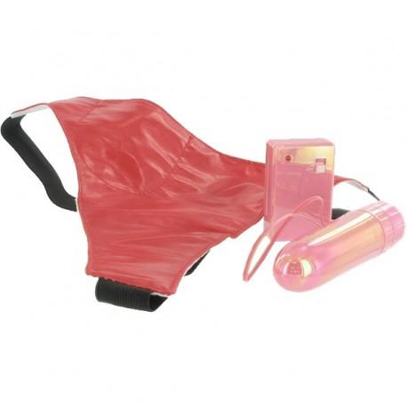 Zdalnie sterowany stymulator z majteczkami - Remote Controlled Vibe With Thong