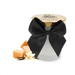 Świeca do masażu - Bijoux Cosmetiques Soft Caramel Massage Candle Karmel