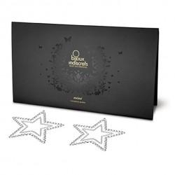 Nakładki na sutki - Bijoux Indiscrets Mimi Star Silver Gwiazda Srebrna