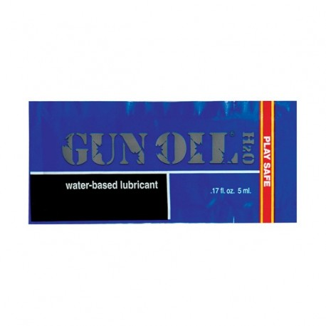 Lubrykant wodny - Gun Oil H2O Water Based Lubricant 5 ml