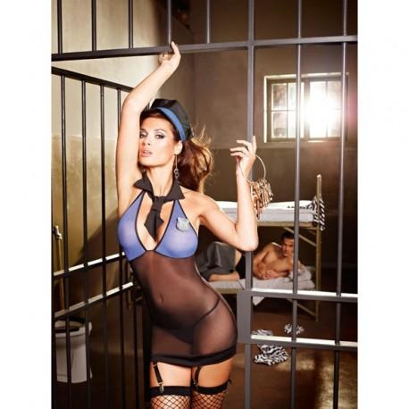 Przebranie policjantka - Baci Sexy Sergeant Set S/M
