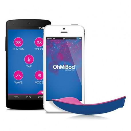 Masażer sterowany aplikacją OhMiBod - blueMotion App Controlled Massager