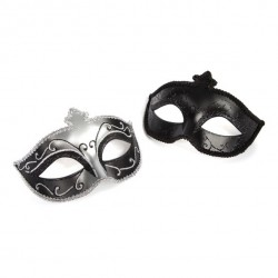 Maska karnawałowa - 50 Shades of Grey Masquerade Mask Twin Pack (dwupak)