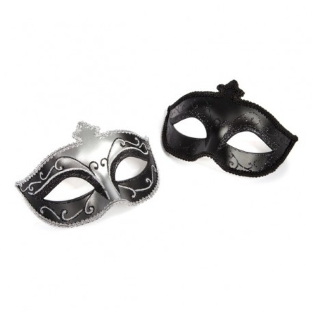 Fifty Shades of Grey - Maska karnawałowa Masquerade Mask Twin Pack Dwupak