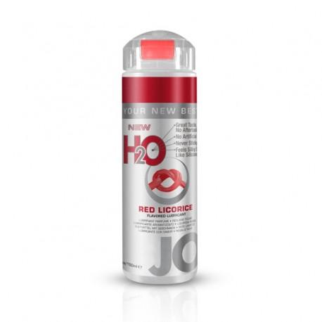 Lubrykant smakowy wodny - System JO H2O Lubricant Red Licorice 150 ml Czerwona lukrecja