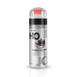 Lubrykant smakowy wodny - System JO H2O Lubricant Black Licorice 150 ml Czarna lukrecja