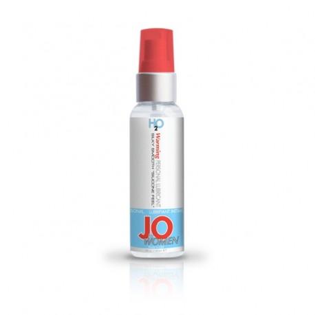 Lubrykant wodny - System JO Women H2O Lubricant Warming 60 ml Rozgrzewający