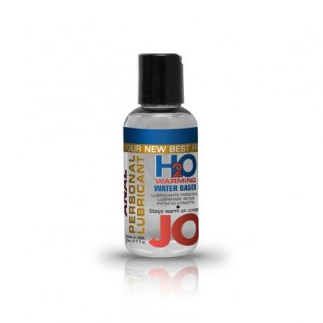 Lubrykant analny - System JO Anal H2O Lubricant Warming 75 ml Rozgrzewający