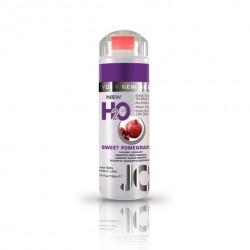 Lubrykant smakowy wodny - System JO H2O Lubricant Pomegranate 150 ml, Granat