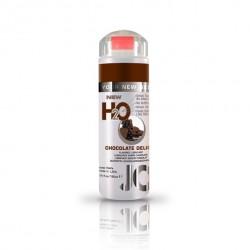 Lubrykant smakowy wodny - System JO H2O Lubricant Chocolate 120 ml, Czekolada
