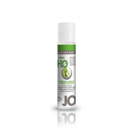 Lubrykant smakowy wodny - System JO H2O Lubricant Apple 30 ml, Jabłko