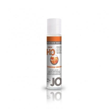 Lubrykant smakowy wodny - System JO H2O Lubricant Tangerine 30 ml, Mandarynka