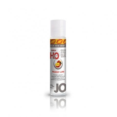 Lubrykant smakowy wodny - System JO H2O Lubricant Peach 30 ml, Brzoskwinia