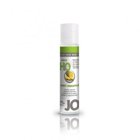 Lubrykant smakowy wodny - System JO H2O Lubricant Pineapple 30 ml, Ananas