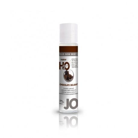 Lubrykant smakowy wodny - System JO H2O Lubricant Chocolate 30 ml, Czekoalda
