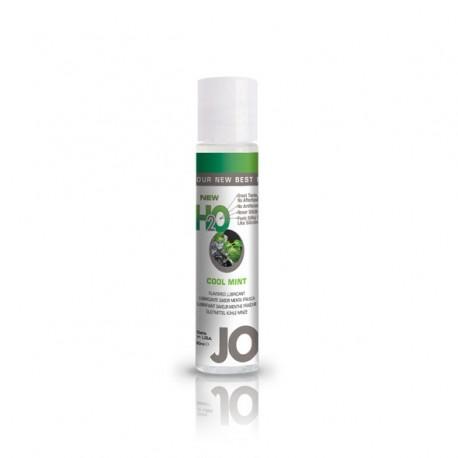 Lubrykant smakowy wodny - System JO H2O Lubricant Mint 30 ml, Mięta