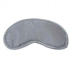 Opaska na oczy szara - S&M Satin Blindfold Grey