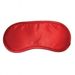 Opaska na oczy czerwona - S&M Satin Blindfold Red