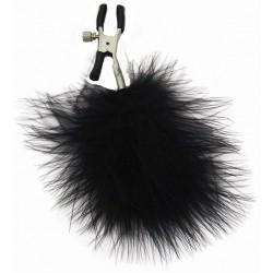 Zaciski na sutki - S&M Feathered Nipple Clamps