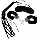 Zestaw BDSM dla początkujących - S&M Intro to S&M Kit Black