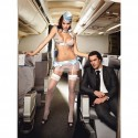 Przebranie stewardessa - Baci First Class Flight Attendant One Size