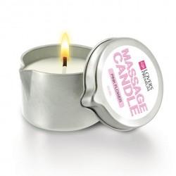 Świeca do masażu - LoversPremium (zapach różowe kwiaty)