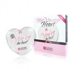 Ogrzewające serduszko - LoversPremium Hot Massage Heart XL The Best