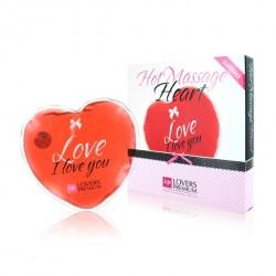 Ogrzewające serduszko - LoversPremium Hot Massage Heart XL Love