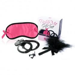 Zestaw akcesoriów - LoversPremium Tickle Me Gift Set Pink