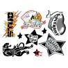 Tattoo Set - Zestaw seksownych, zmywalnych tatuaży Impreza - Get Naughty Party