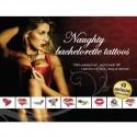 Tattoo Set - Zestaw seksownych, zmywalnych tatuaży - Naughty Bachelorette