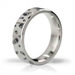 Pierścień erekcyjny polerowany i grawerowany 51mm - Mystim His Ringness Duke
